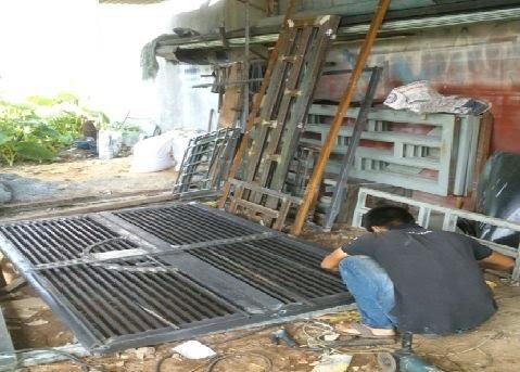 Hàn cửa sắt tại tphcm.