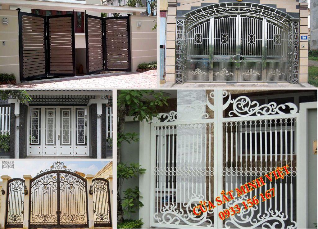 Chuyên Lắp cửa sắt tại nhà đẹp nhất Sài Gòn.