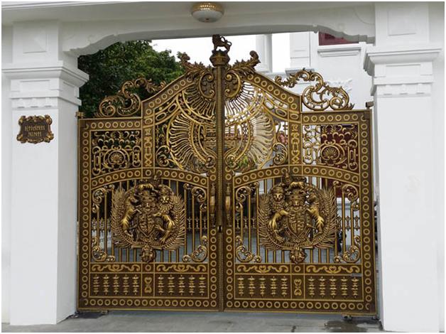 làm cửa cổng đồng